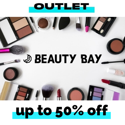 Up to 50% off at the Beauty Bay Outlet