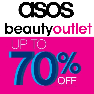 ASOS Outlet makeup, the place to grab brand-new discounted makeup at up to 70% off the original price