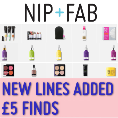 NIP+FAB £5 Finds...NEW LINES ADDED