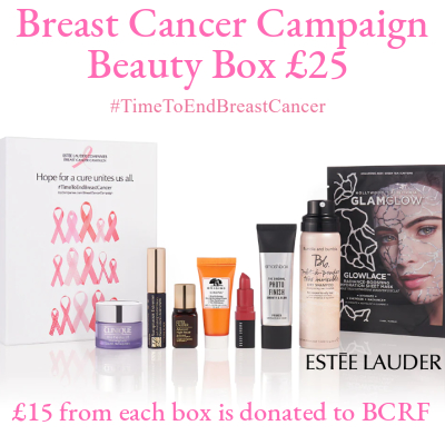 Breast Cancer Campaign Beauty Box £25 (worth over £83)