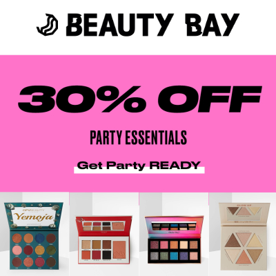 30% off Party Essentials