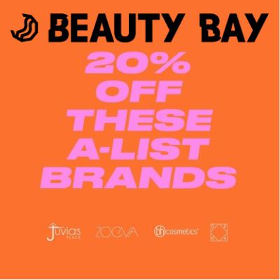 20% off A List Brands