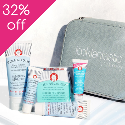 32% off First Aid Beauty lookfantastic Discovery Bag (Worth £32)