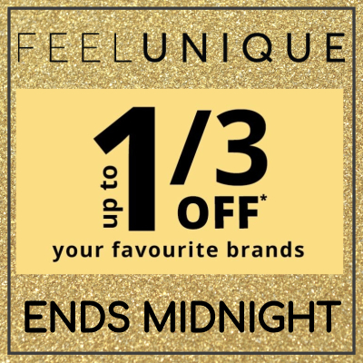 Save 1/3 on your fave beauty brands at Feelunique