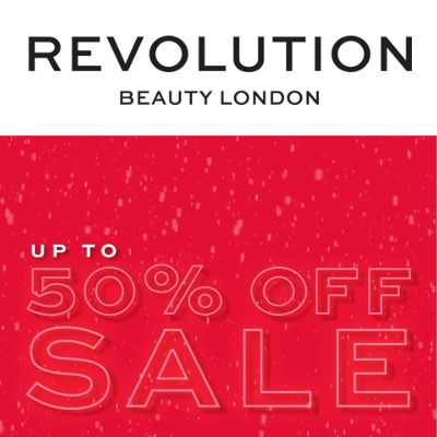 Revolution Beauty Sale - up to 50% off