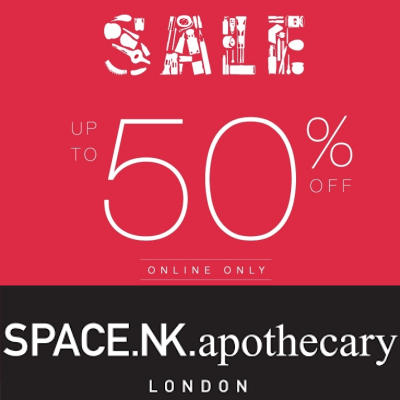 Space NK Sale - upto 50% off