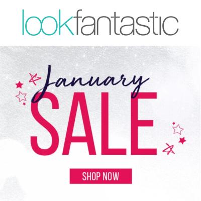 Lookfantastic January Sale - upto 50% off