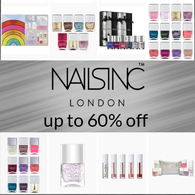 Nails Inc Winter Sale - up to 60% off
