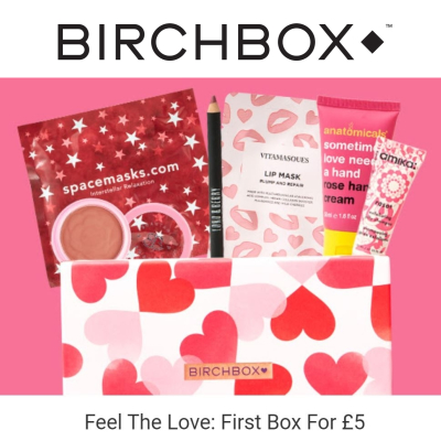 Get your first Birchbox for only £5