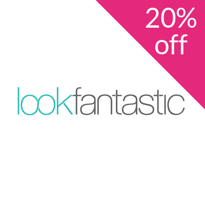 20% off your order at Lookfantastic