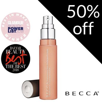 50% off BECCA Shimmering Skin Perfector Liquid Highlighter