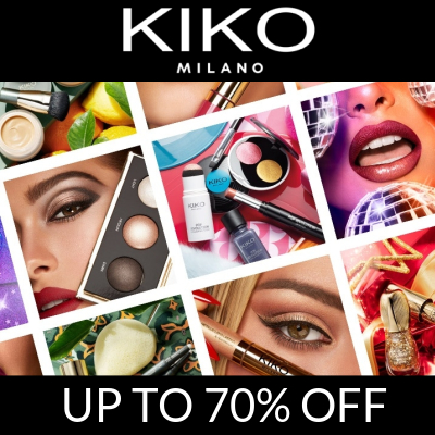 KIKO Outlet - up to 70% off