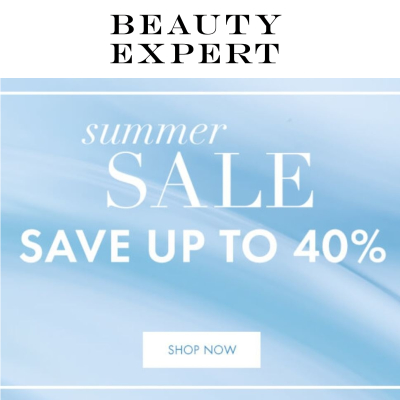 Beauty Expert Summer Sale - up to 40% off