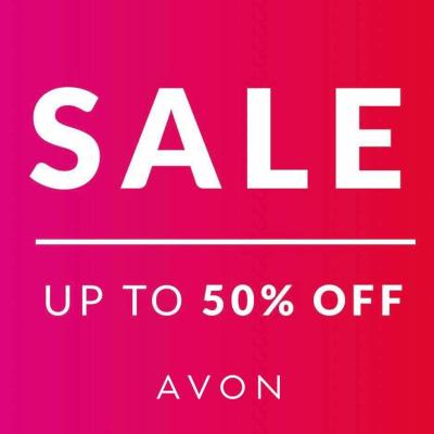 Avon Summer Sale - up to 50% off