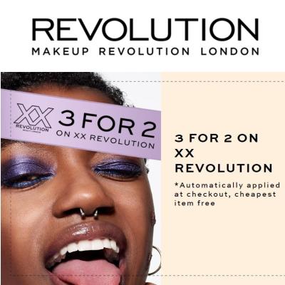 3 for 2 on XX Revolution