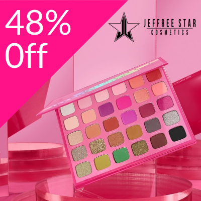 Up to 50% off Morphe X Jeffree Star Products
