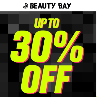 Black Friday at Beauty Bay - up to 30% off