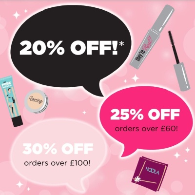 Black Friday offers at Benefit