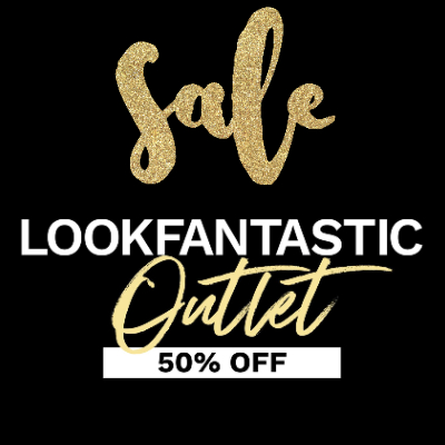 Black Friday - Up to 50% off at Lookfantastic Cyber Outlet