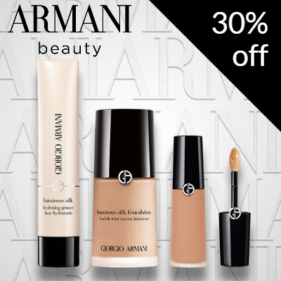 EXCLUSIVE 30% off Armani Beauty