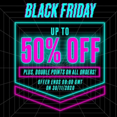 Black Friday at Revolution - up to 50% off