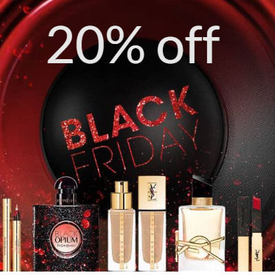 20% off YSL Beauty - 30% off when you spend £100