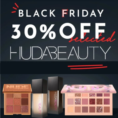 Up to 30% off Huda Beauty