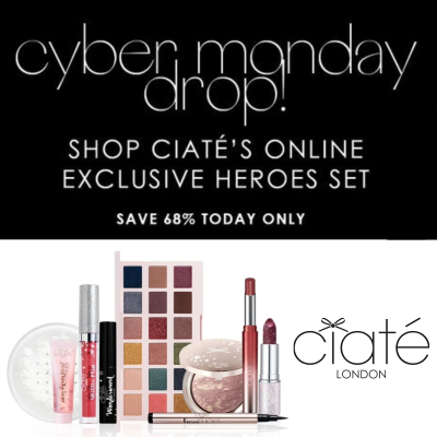 Ciate Cyber Monday - up to 68% off selected