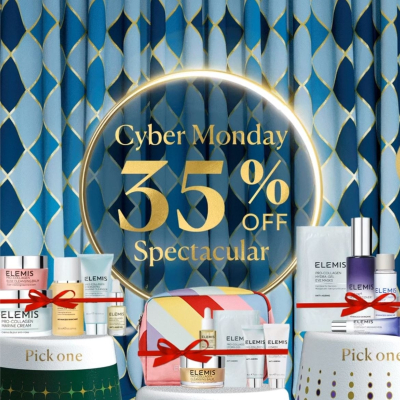 Elemis Cyber Monday - Get 35% Off select full sizes with Free Shipping