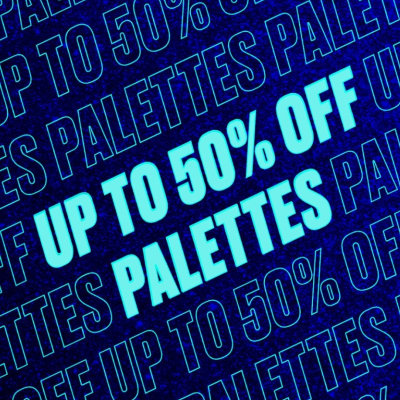 50% off selected Palettes at Beauty Bay