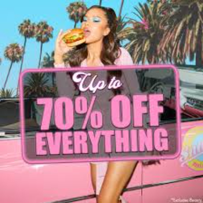 Up to 70% off beauty at PrettyLittleThing