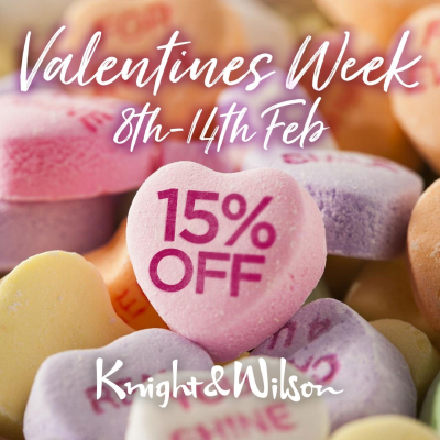15% off at Knight & Wilson, for all your Colour and Care hair needs
