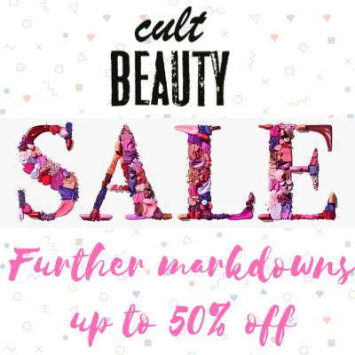 Cult Beauty Sale - further markdowns - up to 50% off