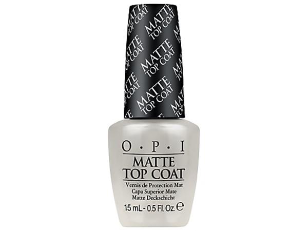 Matte Top Coat Nail Lacquer