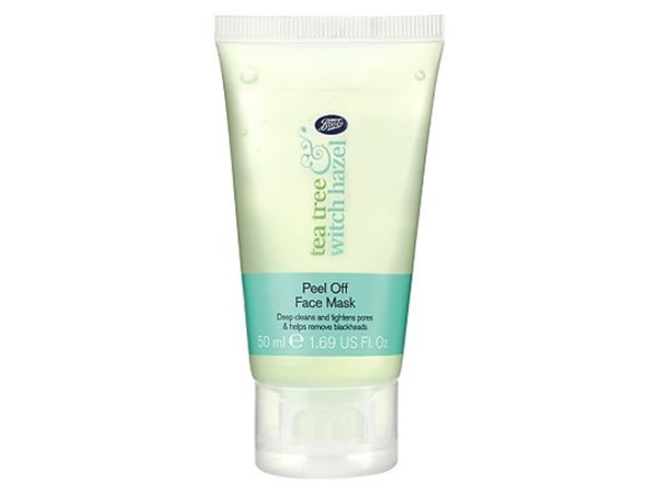 Boots Tea Tree & Witch Hazel Peel Off Face Mask