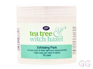 Tea Tree & Witch Hazel Exfoliating Pads
