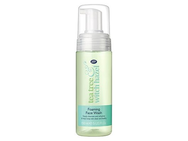 Boots Tea Tree & Witch Hazel Foaming Face Wash