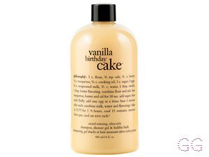 Vanilla birthday cake 3 in 1 shampoo, shower gel & bubble bath