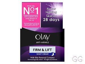 Olay Anti-Wrinkle Firm & Lift Anti-ageing Moisturiser Night Cream