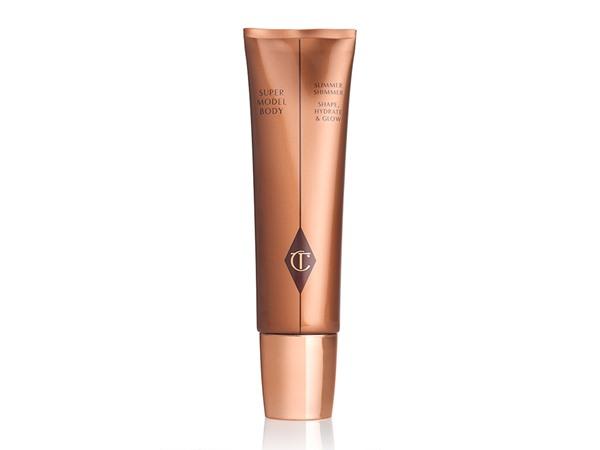 Charlotte Tilbury Supermodel Body Slimmer Shimmer: Shape, Hydrate & Glow