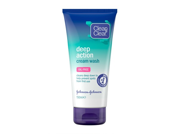 Deep Action Oil-Free Cream Wash