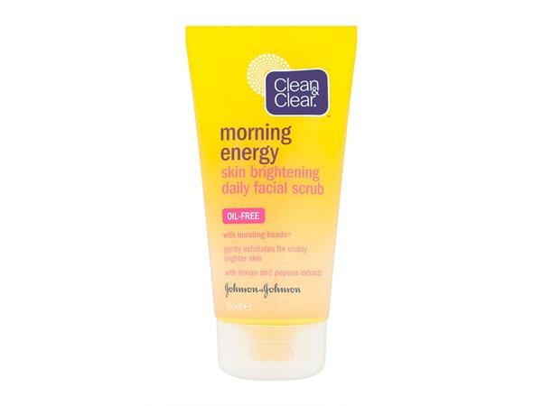 Morning Energy Skin Brightening Daily Facial Scrub