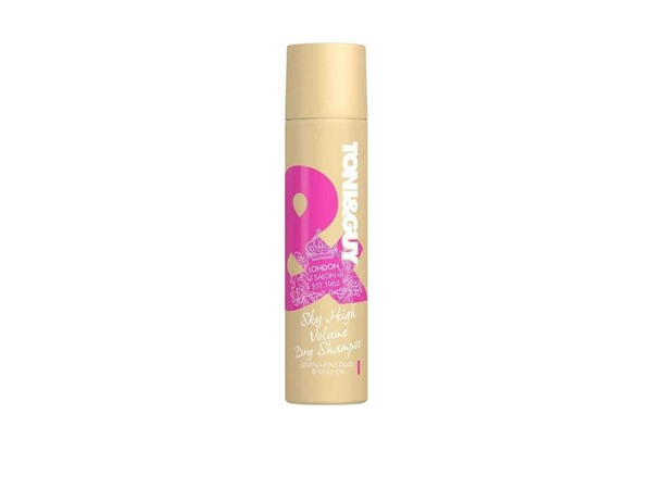 Toni & Guy Glamour Sky High Volume Dry Shampoo
