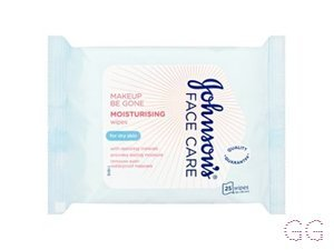 Johnson's Johnson's Make Up Be Gone Nourishing Wipes for Dry Skin