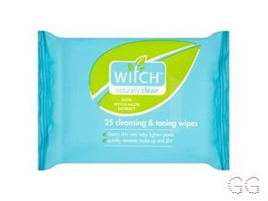 Witch Cleansing And Toning Facial Wipes
