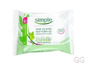 Simple Kind to Eyes Make Up Remover Pads