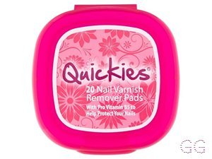 Quickies Nail Polish Remover Pads