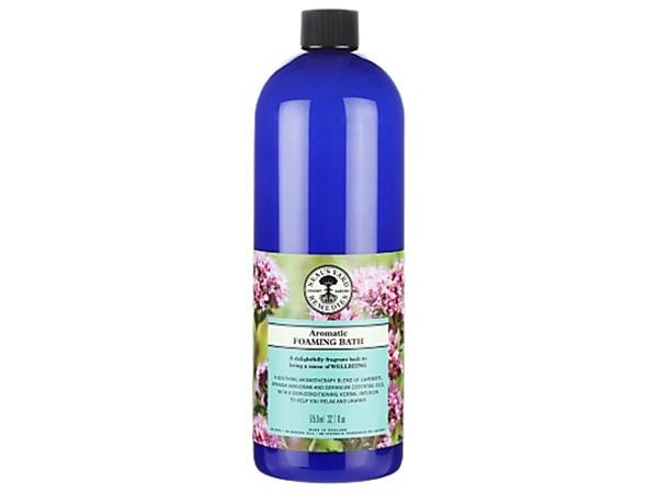 Organic Aromatic Foaming Bath