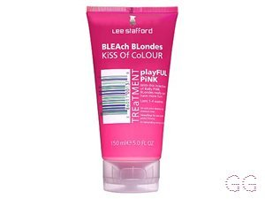 Bleach Blondes Kiss Of Colour Playful Pink Treatment