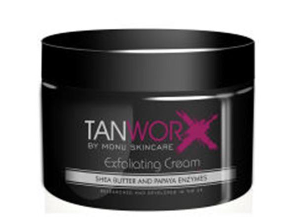 Tanworx Exfoliating Body Cream